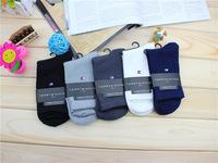 Free shipping 2014 Hot Sale Fashion bamboo fiber business men's sock brand men socks, socks for male,Sports socks 5 pairs /lot