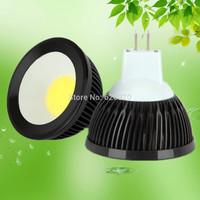 Free shipping 4W black COB MR16 GU10 spotlights gu5.3/gu10/e27 12V 220V ww/cw high brightness 90 degrees factory price