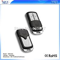 315M\433M 4 button wireless remote control for garage gate remote shutter door opener
