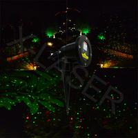 New Blisslights Red&Green outdoor garden laser lighting/mini outdoor laser light/Christmas lighting/holiday lighting/laser light