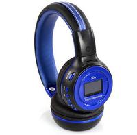 Zealot foldable stereo earphone&headphone N6 with LCD display MP3 player TF MMC SD card fm radio USB2.0