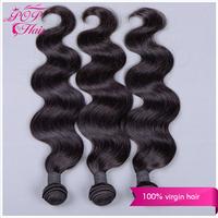 Ali POP brazilian virgin hair body wave 3pcs 6A cheap human hair weave can be dyed 8''-30'' brazilian virgin hair extension