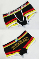 Brazil Men's Underwear Cotton World Cup Boxershorts Boxer Brasil,UK,USA,Netherlands,Germany,Italy,Spain,Argentina Underpant