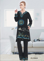 Free shipping 2014 fashion muslim clothing new design for women  FL 20069