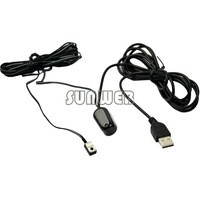 Dropshipping Cheap Hot Sell Infrared Remote Control Receiver + Emitter + USB Adaptor for IR Extender Repeater #7 TK0145