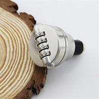 2014 New Creative zinc alloy bottle lock password lock, wine stopper flagon gift lock stainless steel locks