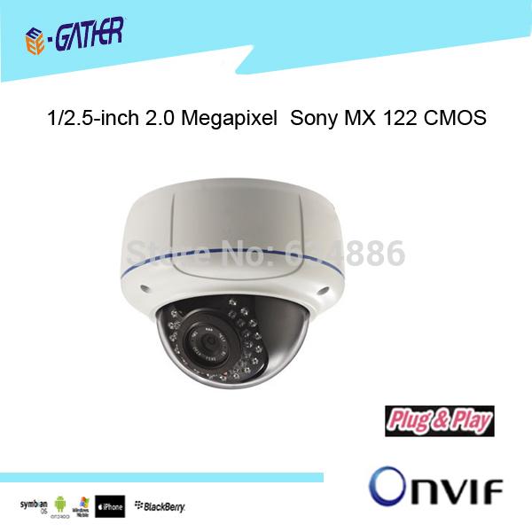 2.0 Mega pixel 2.8-12mm Varifocus Lens HD Security Camera Dome(China (Mainland))