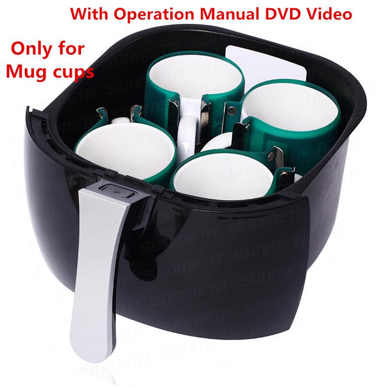 For mug cup 3D mini heat sublimation vacuum machine heat press vacuum machine free shipping RU