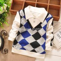 New 2014 Boys Shirts Atacado Roupas Infantil Shirts For Children Baby Boy Shirt Baby Boys Clothes roupa infantil menino