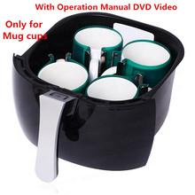 For mug cup 3D mini heat sublimation vacuum machine heat press vacuum machine free shipping Brazil South America
