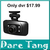 "Hot sale shipping  free GS8000L  Car DVR 720P without G-Sensor Night Vision Car Camera Recorder 2.7"" HD LTPS LCD Screen H18D"
