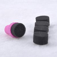 2014 Magic Nail art Sponge Gradual change Stamper Polish Stamping Manicure nail brush 4PCS/SET  New Free Shipping 20MHM075#S5