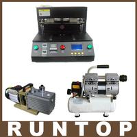 Black OCA Vacuum Laminator Laminating Machine Cellphone LCD Screen Refurbish Repair Lamination Machine