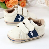 New Arrival 3 Pairs/Lot Fashion khaki Star baby shoes casual cotton shoes children's pre walker shoes new born shoes  0732