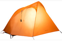 Outdoor ultra-light aluminum rod single double layer tent