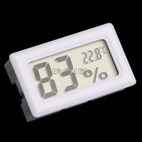New Hot Sale Mini Digital LCD Thermometer Temperature Indoor Humidity Meter Gauge Hygrometer #2 SV004981
