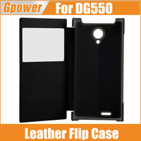 In Stock New Original DOOGEE DAGGER DG550 Leather Case With High Quality Flip Cover For Doogee DG550 Smart Phone White Black