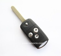 for Honda new Accord , new City , new CRV 3 button remote key 433mhz with ID46 transponder chip