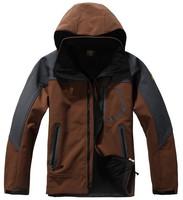 2014 New  Men's Winter Outdoors Sport T-shirt Fleece Jackets Anti-static jacket men's chimborazo hoodie Hi-Q
