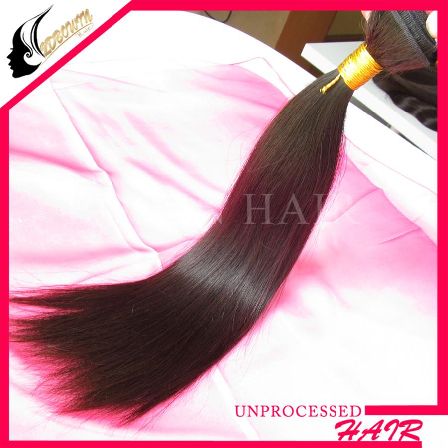 Bowin hair hot selling 100% peruvian virgin hair straight 1pcs lot 8''-30'' inch Peruvian straight hair Factory Outlet Price(China (Mainland))