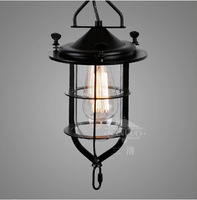 Vintage Edison Industrial Pendant Lamp Hanging Lighting Loft American Country Restaurant Bedroom Lamp Wrought Iron Lights