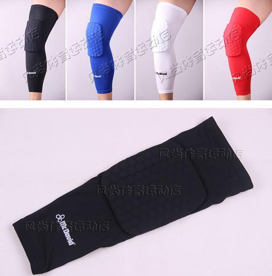 High Quality Mcdavid Breathable Basketball Footable Sports Kneepad Honeycomb Pad Bumper Tight Kneelet Protective Knee 5YD001(China (Mainland))