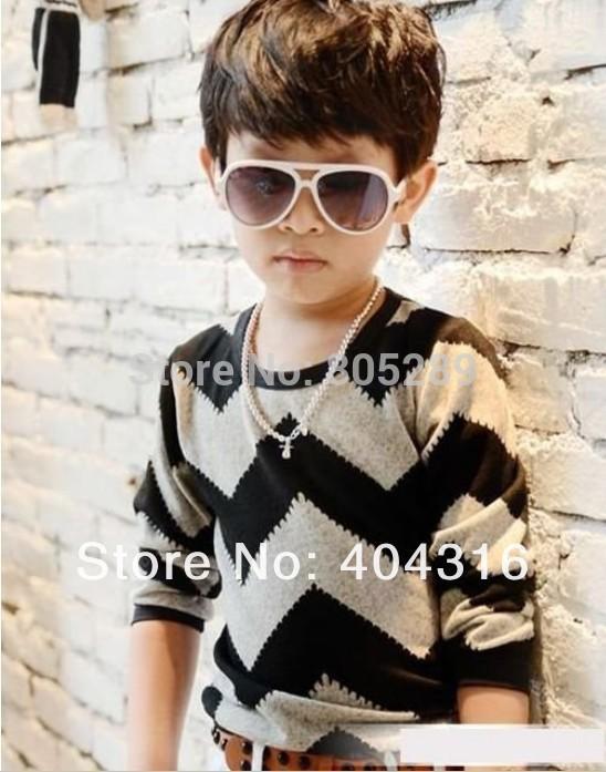 Hot Sale spring&autumn children's T-shirts 2 colors kids 1pcs/lot boys T-Shirts(China (Mainland))