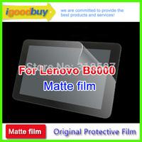 New 2014 3pcs matte anti-glare screen protector for Lenova Lenovo yoga 10 B8000 259*160mm 10.1inch protective film for tablets