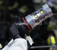 2 x 9005 Cree 10 LED HB3 50W Lamp car Fog Head Bulb auto Vehicles parking Turn Signal Reverse Tail Daytime Running Lights White