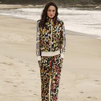 2014 Women's Tracksuits  Hoody Toucan Printed Casual Sports suit Ladies Clothing Set Outerwear Jacket Sweatshirt Women Set 4 pcs