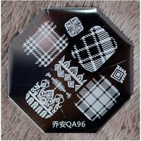 Stamping Nail Art  QA96   10pcs/lot   SS Stamping Plates