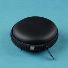 Portable Mini Round Hard Storage Case Bag for Earphone Headphone SD TF Cards New(China (Mainland))