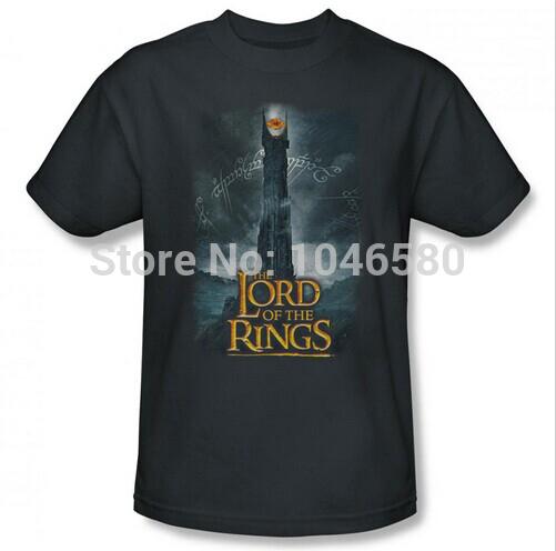 2014 new fashion men/women t shirt Lord of the Rings Always Watching mens tshirt shirts brand new flim design cotton print tee(China (Mainland))