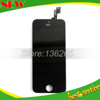 For iPhone 5S Lcd  Assembly Display Touch Screen 5C Digitizer  glass mix White Or Black Color Free Shipping