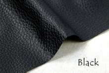 Nice black PU leather, Faux Leather Fabric for Sewing,synthetic artificial leather for diy bag material(ss-1415)(China (Mainland))