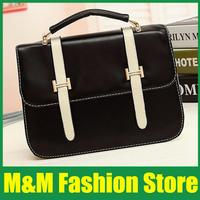 selling fashion Womens Candy color handbags Ladies PU Messenger Hobo Shoulder Handbag  Tote Purse Hand Bag  Free Shipping A35