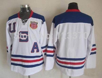 Customize 2010 usa hockey jersey 88# patrick kane jersey 81#KESSEL 9# zach parise Men/kids Personalized Any No./Name Sewn On(China (Mainland))