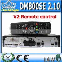 dm800se 2.10 decoder DM800HD SE with BCM4505tuner sim2.10 with V2 Remote Control 400 MHz processor by fedex  free shipping