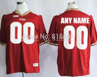 Customized Florida State Seminoles FSU Red White stitched Personalized College Football Jerseys custom madecheap
