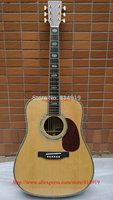 2014 Classic Acoustic Guitar AAA top Solid Spruce Ebony fingerboard / Ebony Bridge Abalone Binding Body In Stock