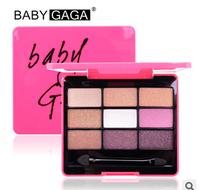 Wholesale eye shadow 2014 new  Makeup set 9 Colors palette eyeshadow palettes maquiagem free eyeshadow palette Dropshipp