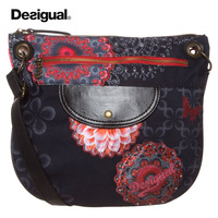 The new 2014 ms DESIGUAL bag bag, single shoulder bag