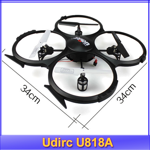Free shipping!! Udirc 2014 new RC helicopter gyroscope Quadrocopter Camera UFO U818A Taking picture 2.4G remote control toys(China (Mainland))