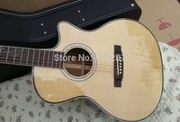 free hardcase Free Shipping lakewood custom acoustic electric guitar lakewood acoustic HOT