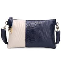 Genuine Leather Women Bag Fashion Women Handbag Alligator Embossed Crocodile Women Messenger Bags Clutch HB-147