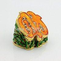 Alloy metal Money Box shape animal trinket box for wedding gifts  SCJ572