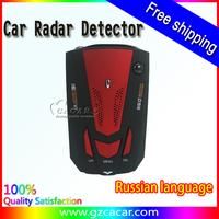 Free Shipping Russia hot sale anti car speed control laser radar detector speed control radar detector