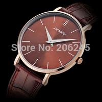 2014 Luxury Brand Watches Men Leather Strap Watch for Man Fashion Quartz Watches Male Military Wristwatch MN4975