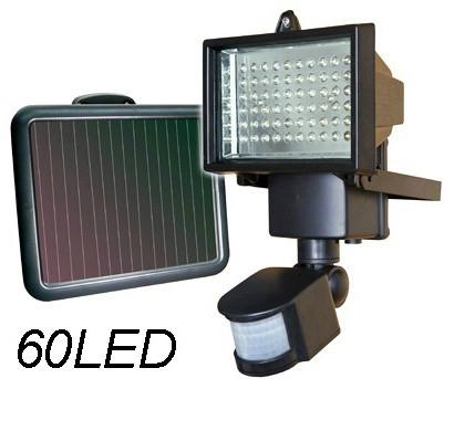 60LED Solar Steet Lamp PIR Motion Sensor Lights 100% Solar Powered Outdoor Emergency Lighting Security Wall Spot Light luminaria(China (Mainland))