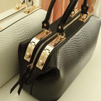 New 2015 Crocodile Pattern Brand Women Handbag Fashion Crossbody Tote desigual Women Leather Bags Handbags
